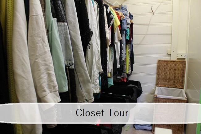 closet tour