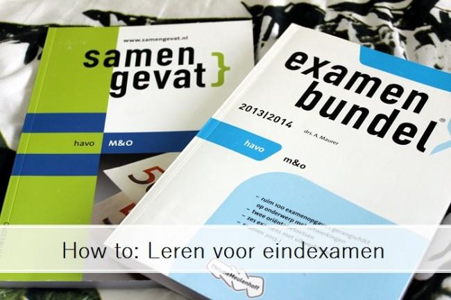 leren voor examens
