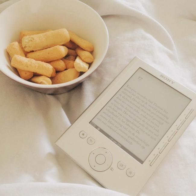 Even lekker relaxed een boekje lezen