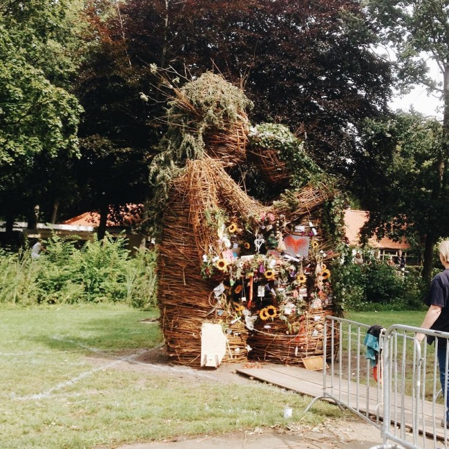 Wickerman op Castlefest #castlefest2015 #love