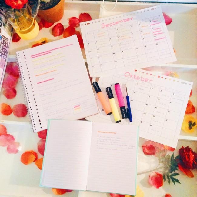 Planningen, to do lijstjes en lijstjes vol ideeën. Dit gebeurt er wanneer ik veel vooruit moet werken voor mijn blog. #planning #blogger