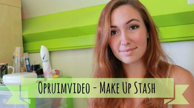 opruimvideo make up stash