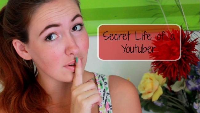 secret life of a youtuber