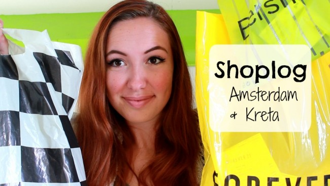 Shoplog Amsterdam en Kreta