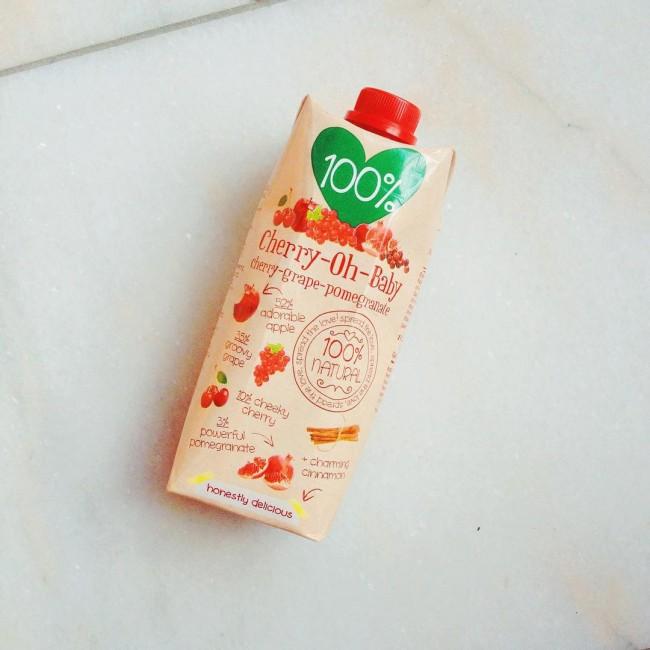 Omdat lekker best gezond kan zijn en je jezelf af en toe best mag verwennen  #100% #cherry-oh-baby