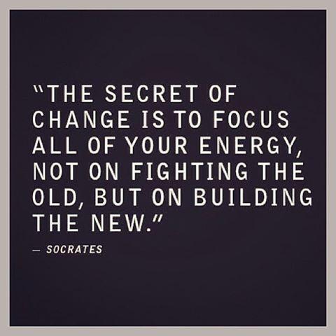 #quote #change #focus