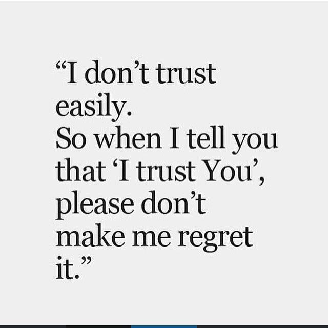 #quote #trust