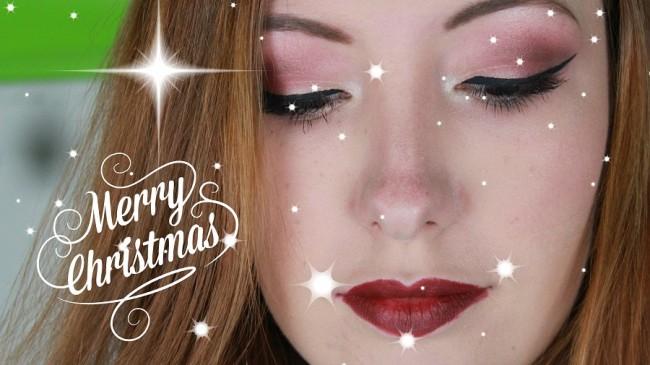 kerst makeup