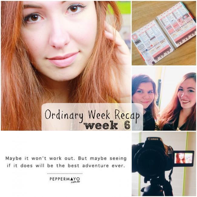 Ordinary Week Recap - week 6