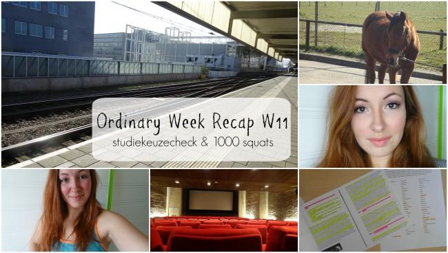 Ordinary Week Recap - week 11