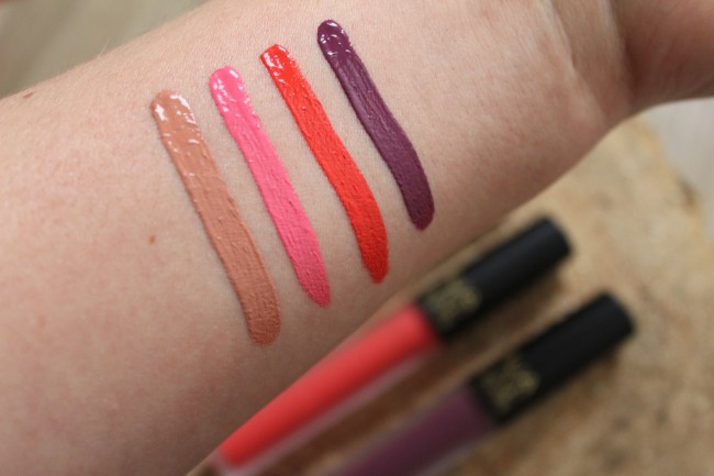 MUA Velvet Lip Laquers