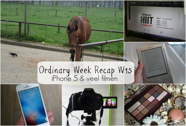 Ordinary Week Recap - week 15