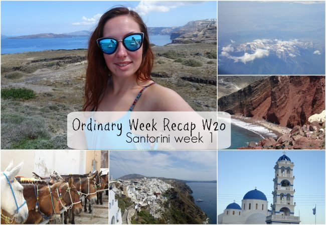 Ordinary Week Recap - week 20