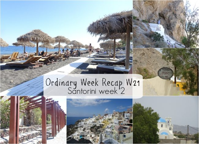 Ordinary Week Recap - week 21