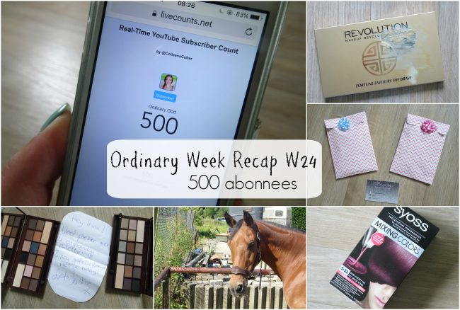 Ordinary Week Recap - week 24