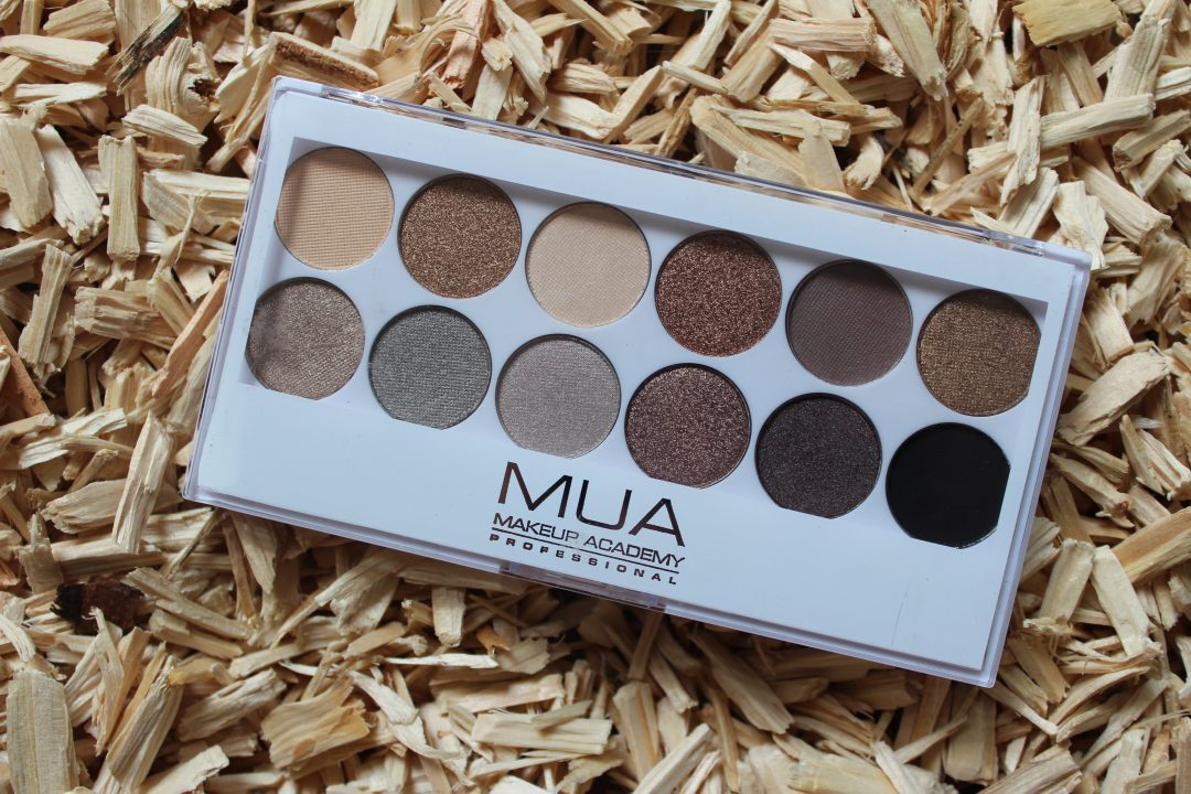 MUA Undress Me Too oogschaduw palette