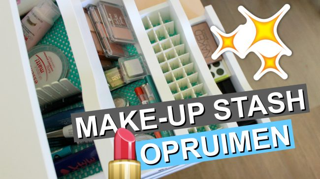 Make-Up Stash Opruimen & Indelen