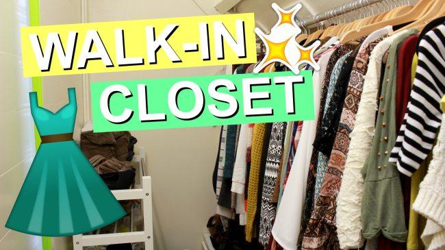 (Walk-In) Closet Tour