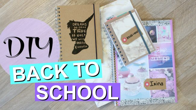 Back To School DIY's + WINACTIE