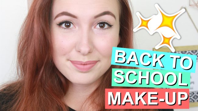 Back To School Budget Make-Up Tutorial