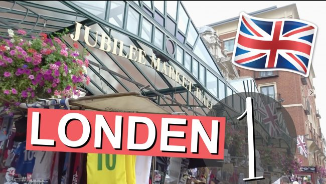 LONDEN VLOG 1 2016 - Piccadilly Circus & Covent Garden