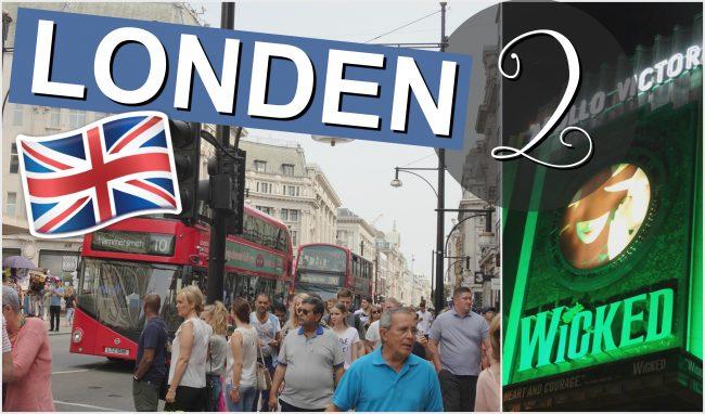 LONDEN VLOG 2 2016 - Shop Till You Drop & Naar Het Theater