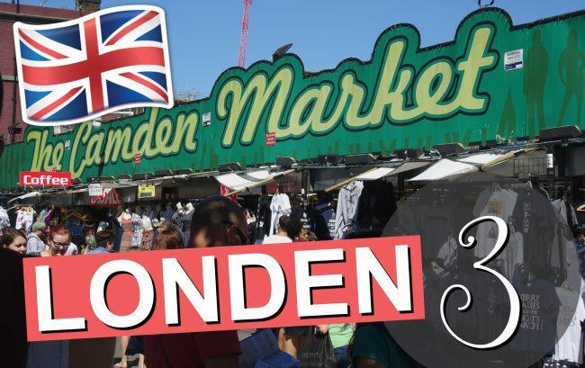LONDEN VLOG 3 2016 - Camden Town Ontdekken