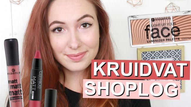 Kruidvat Shoplog - Nieuwe Essence & Catrice producten