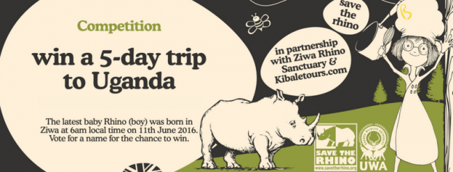 World Rhino Day & Win een trip naar Uganda