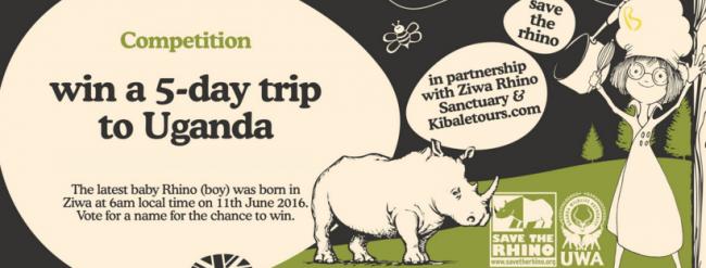 World Rhino Day & Win een trip naar Uganda