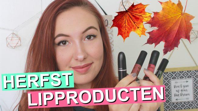 Mijn 8 Favoriete Herfst Lipkleuren