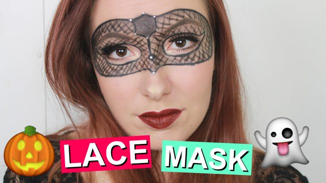 HALLOWEEN Tutorial - Lace Mask