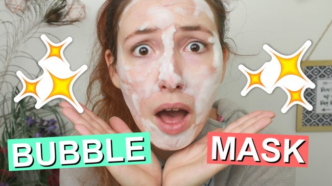 First Impression - ELF Hydrating Bubble Mask