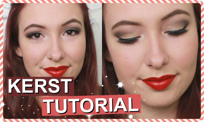 Kerst Make Up Tutorial 2016